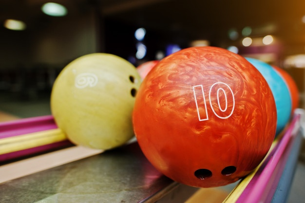 Number of bowling balls