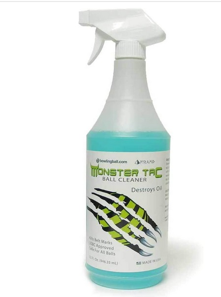 Monster Tac Bowling Ball Cleaner